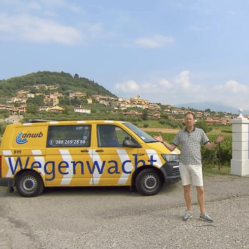 ANWB wagen in het buitenland